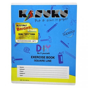 Kasuku Exercise 120 pages...